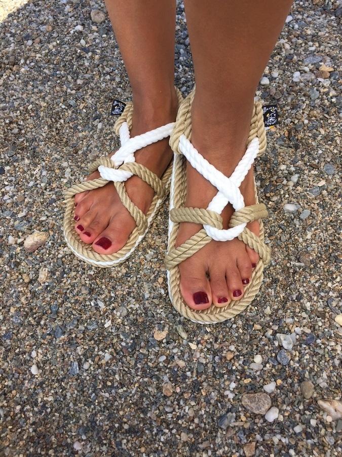 nomadic, nomadic state, sandales corde, rope sandals