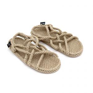 sandales en corde, sandales recyclables, sandales greques, nomadic state of mind