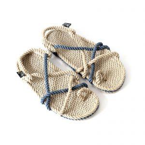 sandales en corde nomadic , sandales grec