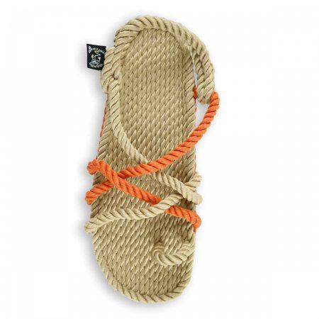 Nomadic state of mind, sandales nomadic, sandales en corde, sandales noir, toe joe beige pumpkin, nomadic rope sandals, sandales nomadic, toe joe beige pumpkin, nomadic beige orange.