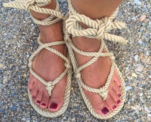 Nomadic, Nomadic state, nomadic state of mind, sandales nomadic, nomadic sandals romano camel, sandales nomadic state of mind romano beige, sandales en corde, rope sandals