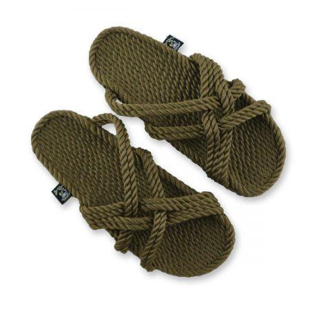Nomadic State, Nomadic state of mind, sandales en cordes, ropes sandals, slip on sandals, Nomadic sandales, nomadic,sandali di corda, vegan sandals,nomadic state slip kaki, nomadic sage green