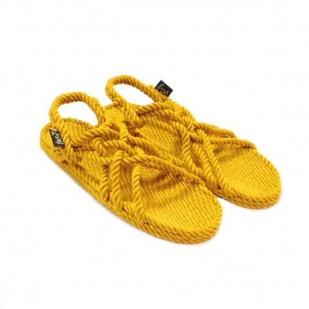 Sandales nomadic state of mind, sandale en corde, modèle jc couleur gold